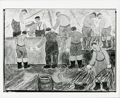 view Fishermen [art work] / (photographed by Peter A. Juley & Son) digital asset number 1