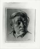 view Portrait of Abraham Walkowitz [drawing] / (photographed by Peter A. Juley & Son) digital asset number 1
