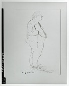 view Abraham Walkowitz [drawing] / (photographed by Peter A. Juley & Son) digital asset number 1
