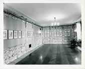 view Installation view of Abraham Walkowitz exhibition [photograph] / (photographed by Peter A. Juley & Son) digital asset number 1