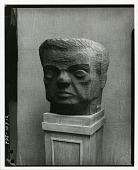 view Abraham Walkowitz [sculpture] / (photographed by Peter A. Juley & Son) digital asset number 1