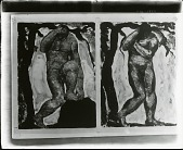 view Standing Male Figures [painting] / (photographed by Peter A. Juley & Son) digital asset number 1