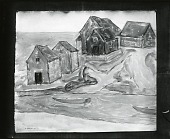 view Houses by a River [art work] / (photographed by Peter A. Juley & Son) digital asset number 1
