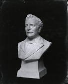 view (No Title Given: Male Bust) [sculpture] / (photographed by Peter A. Juley & Son) digital asset number 1