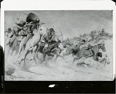 view The Custer Fight [painting] / (photographed by Peter A. Juley & Son) digital asset number 1
