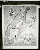 view Map of Greater New York Area [painting] / (photographed by Peter A. Juley & Son) digital asset number 1