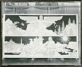 view Vital Energy (top panel) and Rome (cartoons for marble mosaic for Nebraska State Capitol) [painting] / (photographed by Peter A. Juley & Son) digital asset number 1