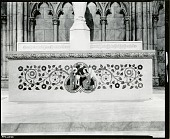 view Altar Table Mosaic for Lady Chapel, St. Patrick's Cathedral, New York (installation view) [mosaic] / (photographed by Walter J. Russell) digital asset number 1