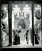 view Altarpiece for Fordham University Church [painting] / (photographed by Walter J. Russell) digital asset number 1