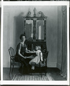 view Mrs. J. C. White and Child [painting] / (photographed by Peter A. Juley & Son) digital asset number 1