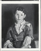 view The Brown-eyed Boy (Thomas Cafferty) [painting] / (photographed by Peter A. Juley & Son) digital asset number 1