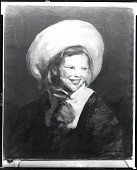 view Dutch Girl with Big Hat [painting] / (photographed by Peter A. Juley & Son) digital asset number 1