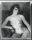 view Spanish Nude [painting] / (photographed by Peter A. Juley & Son) digital asset number 1