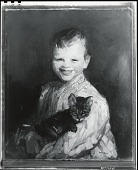 view Cori and the Kitten [painting] / (photographed by Peter A. Juley & Son) digital asset number 1