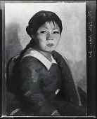 view Little Indian Girl [painting] / (photographed by Peter A. Juley & Son) digital asset number 1