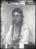 view Mexican Gypsy Girl [painting] / (photographed by Peter A. Juley & Son) digital asset number 1