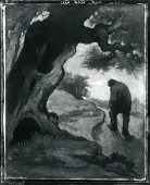view Man and Old Tree [painting] / (photographed by Peter A. Juley & Son) digital asset number 1