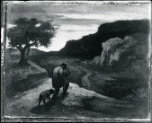 view Lonely Road [painting] / (photographed by Peter A. Juley & Son) digital asset number 1