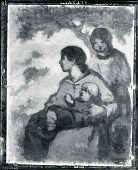 view Woman and Children [painting] / (photographed by Peter A. Juley & Son) digital asset number 1