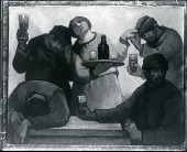view The Drinkers [painting] / (photographed by Peter A. Juley & Son) digital asset number 1