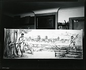 view The First Settlers [painting] / (photographed by Peter A. Juley & Son) digital asset number 1