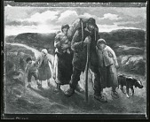 view Tired Trudgers [painting] / (photographed by Peter A. Juley & Son) digital asset number 1