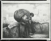 view Woman with a Sack [painting] / (photographed by Peter A. Juley & Son) digital asset number 1