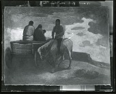 view Pueblo Indians [painting] / (photographed by Peter A. Juley & Son) digital asset number 1