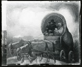 view Covered Wagon [painting] / (photographed by Peter A. Juley & Son) digital asset number 1