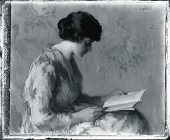 view Woman Reading [painting] / (photographed by Peter A. Juley & Son) digital asset number 1