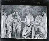 view Doubting Thomas [drawing] / (photographed by Peter A. Juley & Son) digital asset number 1