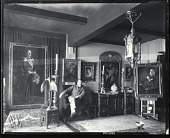 view Brynjulf Strandenaes in his studio [photograph] / (photographed by Peter A. Juley & Son) digital asset number 1