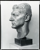 view Portrait of Henry Strater [sculpture] / (photographed by Peter A. Juley & Son) digital asset number 1