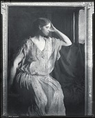 view Woman in Grecian Gown [photograph] / (photographed by Peter A. Juley & Son) digital asset number 1