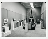view Gallery installation view of Chaim Gross exhibition [photograph] / (photographed by Peter A. Juley & Son) digital asset number 1