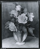 view Roses in Vase [painting] / (photographed by Peter A. Juley & Son) digital asset number 1