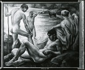 view Bathers [painting] / (photographed by Peter A. Juley & Son) digital asset number 1