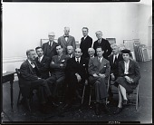 view National Academy of Design 120th Annual Exhibition Jury [photograph] / (photographed by Peter A. Juley & Son) digital asset number 1
