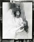 view The Mother (sketch) [painting] / (photographed by Peter A. Juley & Son) digital asset number 1