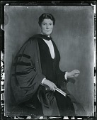 view President Mary Emma Woolley [painting] / (photographed by Peter A. Juley & Son) digital asset number 1