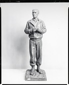 view Ernie Pyle [sculpture] / (photographed by Peter A. Juley & Son) digital asset number 1