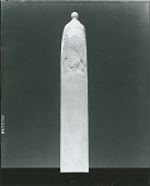 view Model for Thomas Jefferson Rusk Monument (Patriot side view), [sculpture] / (photographed by Peter A. Juley & Son) digital asset number 1