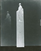 view Model for Thomas Jefferson Rusk Monument (Statesman side view), [sculpture] / (photographed by Peter A. Juley & Son) digital asset number 1