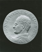 view Rev. Dr. John J. Wynne Medallion [sculpture] / (photographed by Peter A. Juley & Son) digital asset number 1