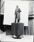 view Model for Marcus Daly Statue [scultpure] / (photographed by De Witt Ward) digital asset number 1