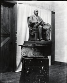 view Model for Marcus A. Hanna Monument [sculpture] / (photographed by De Witt Ward) digital asset number 1