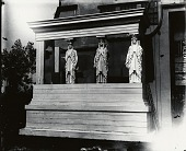 view Model for Albright Caryatids [sculpture] / (photographed by Peter A. Juley & Son) digital asset number 1