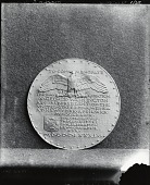 view George Washington Inaugural Centennial Medal (reverse) [sculpture] / (photographed by De Witt Ward) digital asset number 1