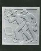 view Tom Sawyer and Huckleberry Finn [sculpture] / (photographed by Peter A. Juley & Son) digital asset number 1