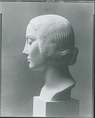 view Portrait of a Girl [sculpture] / (photographed by Peter A. Juley & Son) digital asset number 1